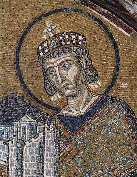 Konstantin und Stadtmodell