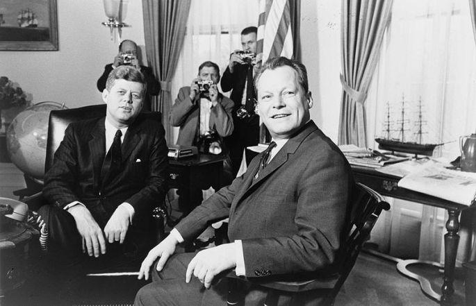 Brandt und Kennedy