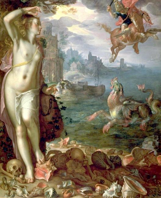 Perseus rettet Andromeda