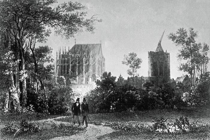 Botanischer-Garten-am-Dom-um-1820