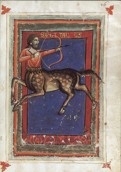 Tierkreis, Schuetze / aus Zothorus -  - Astrologie / Zodiaque : Sagittaire, du 2