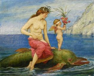 Venus und Delphin